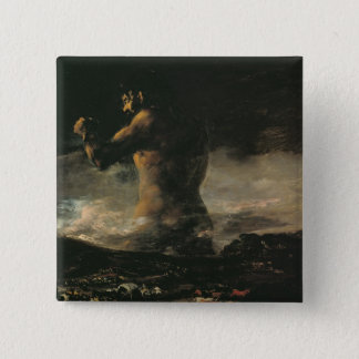 The Colossus, c.1808 15 Cm Square Badge