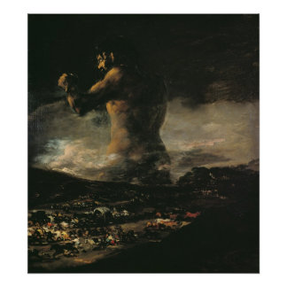The Colossus, c.1808 Print
