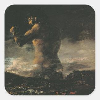 The Colossus, c.1808 Square Sticker