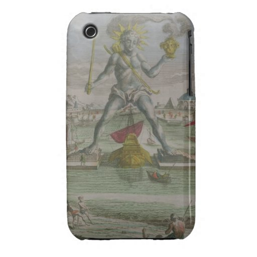 The Colossus of Rhodes, detail of the statue strad iPhone 3 Cases