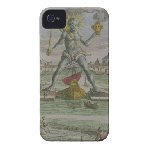 The Colossus of Rhodes, detail of the statue strad Blackberry Bold Covers