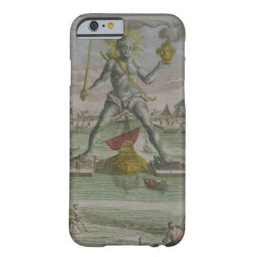 The Colossus of Rhodes, detail of the statue strad iPhone 6 Case