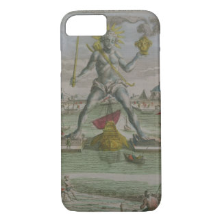 The Colossus of Rhodes, detail of the statue strad iPhone 7 Case