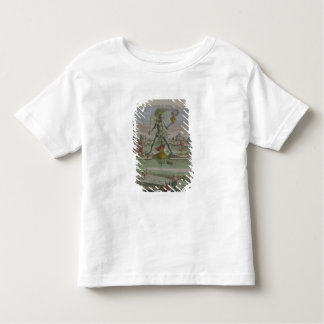 The Colossus of Rhodes, detail of the statue strad Tshirts