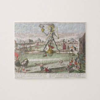 The Colossus of Rhodes, second Wonder of the World Jigsaw Puzzle