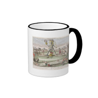 The Colossus of Rhodes, second Wonder of the World Coffee Mug
