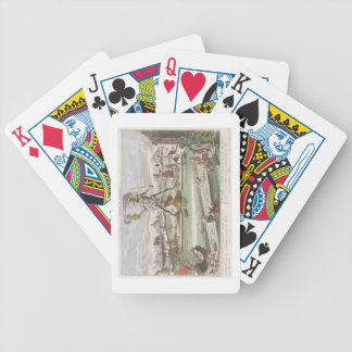 The Colossus of Rhodes, second Wonder of the World Poker Deck