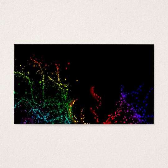 The Colour of Music - Horizontal Business Card