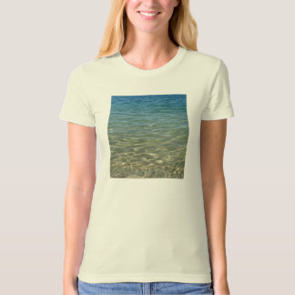 The Colour of Sea Ladies Organic T-Shirt