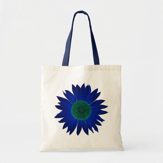 The Colour of Sunflowers Tote Bag - Blue
