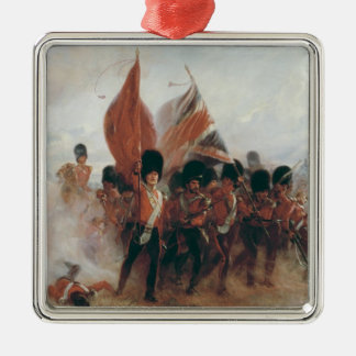 The Colours: advance of the Scots Guards Christmas Ornament