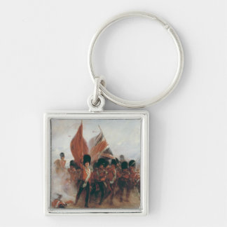 The Colours: advance of the Scots Guards Key Ring