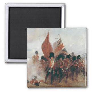 The Colours: advance of the Scots Guards Magnet