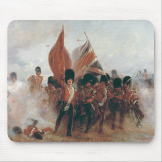 The Colours: advance of the Scots Guards Mouse Mat