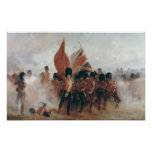 The Colours: advance of the Scots Guards Print