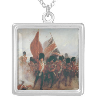 The Colours: advance of the Scots Guards Silver Plated Necklace