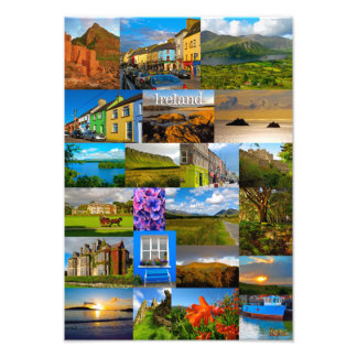 The colours of Ireland Photo Print