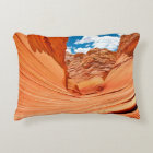 The Colours of the Wave Decorative Cushion