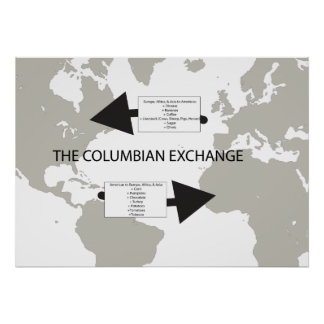 The Columbian Exchange Poster