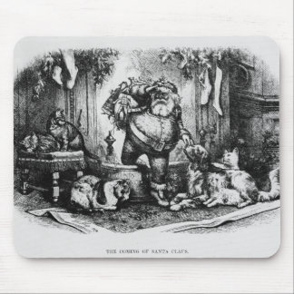 The Coming of Santa Claus, 1872 Mouse Mat