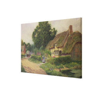The Coming of the Haycart Canvas Print