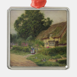 The Coming of the Haycart Christmas Ornament