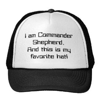 The Commander has spoken Cap