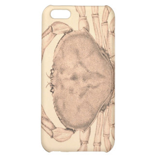 The Common Crab of the Pacific Coast iPhone 5C Cases