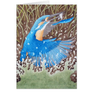 The Common Kingfisher Card