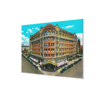 The Commonwealth Building and Pantages Theatre Canvas Print