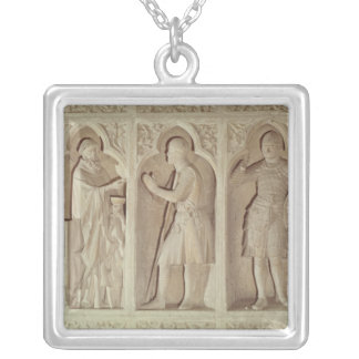 The communion of a knight silver plated necklace