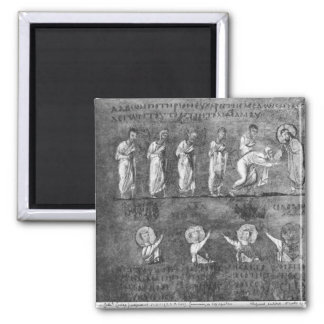 The communion of six apostles magnets