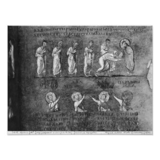 The communion of six apostles posters
