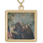 The Communion of St. Rose of Viterbo (The Virgin) Necklaces