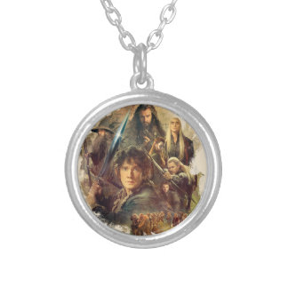 The Company and Elves of Mirkwood Silver Plated Necklace