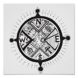 The Compass of Life Poster