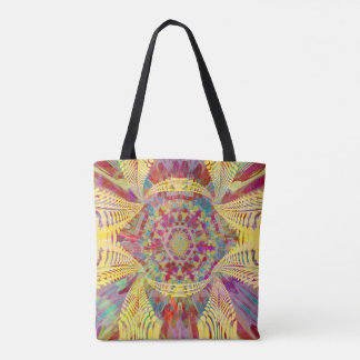 The Complex Design Abstract Tote Bag