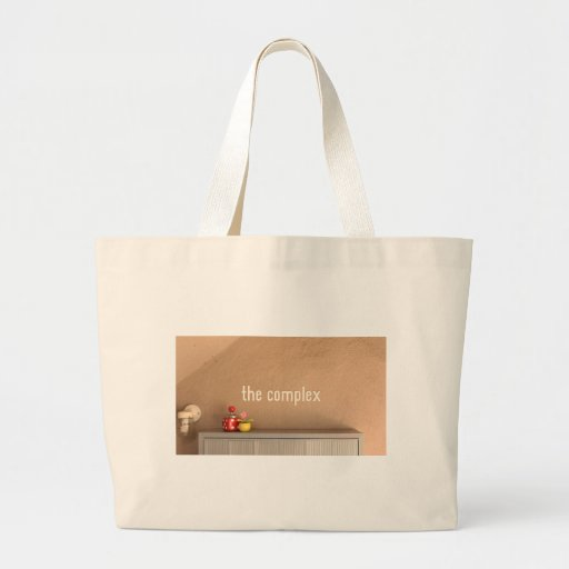 The Complex Jumbo Tote Bags