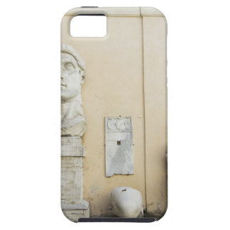 The components of a giant statue of Emperor 2 iPhone 5 Case