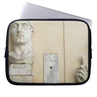The components of a giant statue of Emperor 2 Laptop Sleeve
