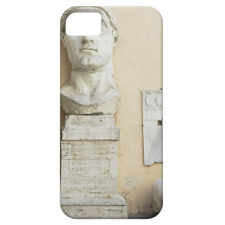 The components of a giant statue of Emperor Case For The iPhone 5
