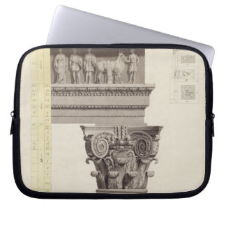 The Composite Order (w/c, wash, pen and black ink Laptop Sleeve