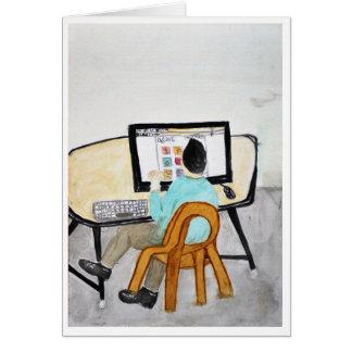 The Computer Desk Card