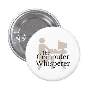 The Computer Whisperer 3 Cm Round Badge