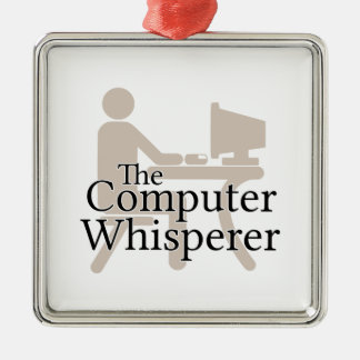 The Computer Whisperer Christmas Ornament