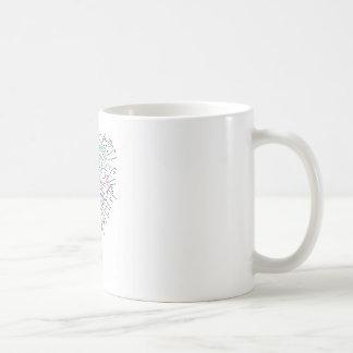 The concept of squared time intervals.. basic white mug