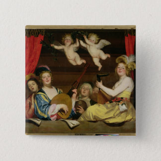 The Concert, 1624 15 Cm Square Badge