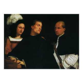 The Concert by Titian Posters