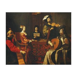 The Concert Canvas Print