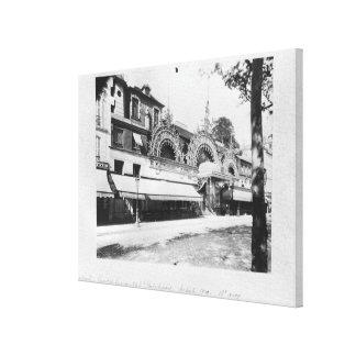 The Concert de Trianon in Paris Canvas Print